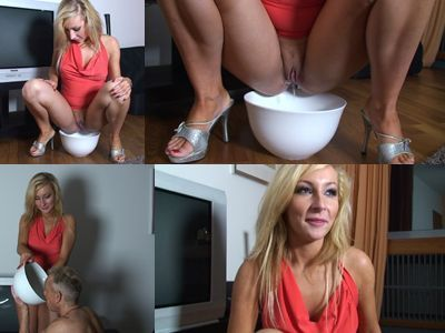 Mistress Diana and her bowl